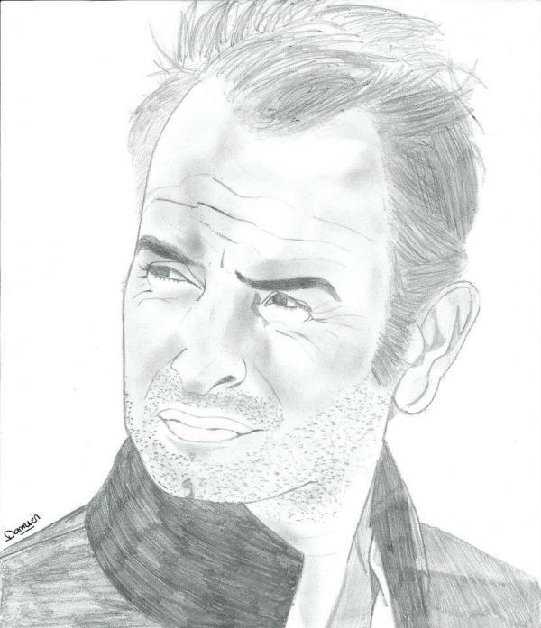 Jean Dujardin por gohansaiyen2